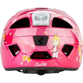 Cube Lume Helm Juniors pink princess